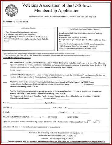 IVA Membership Application